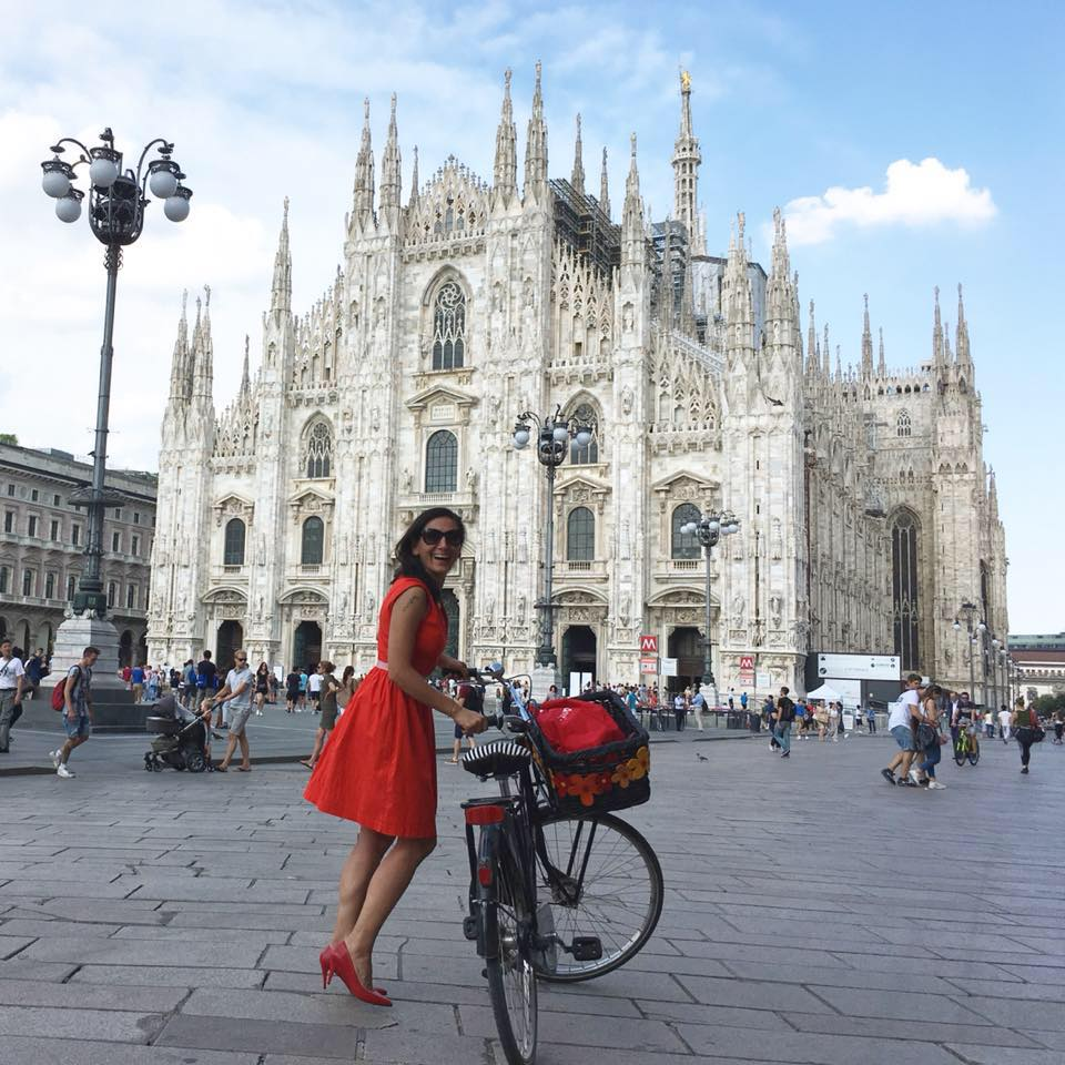 Pinar Pinzuti, Fancy Women Bike Ride, Milano